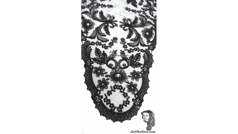 Chalina Española Modelo Paraiso Negro 900