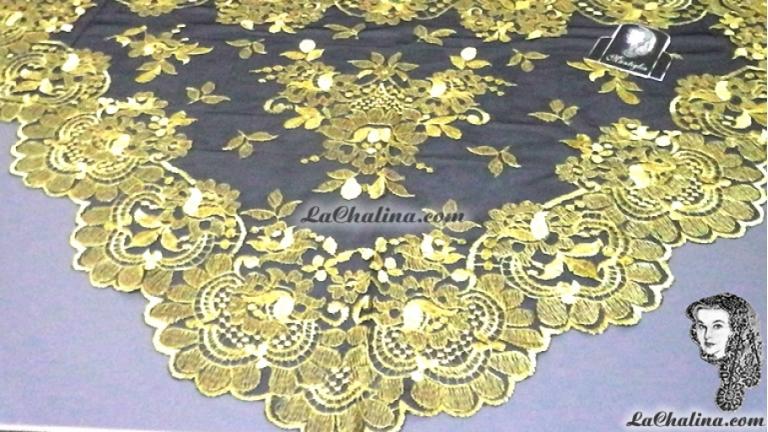 Chalina Italiana Modelo Flor de Liz Italiana Oro 503