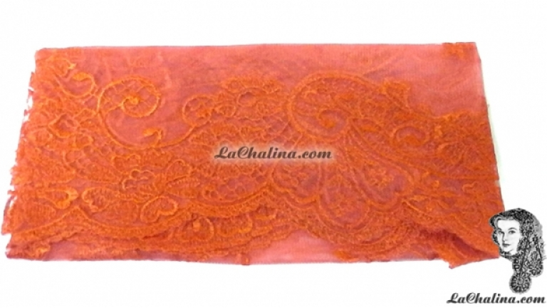 Chalina Italina Modelo Malagueña Naranja 535