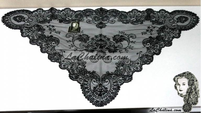 Chalina Italiana Modelo  Malagueña Negro 900
