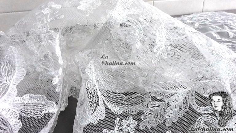 Chalina Española Modelo Paraiso Blanco 800