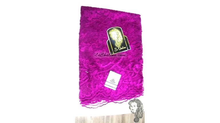 Chalina Francesa Modelo Lea Color Orquidea