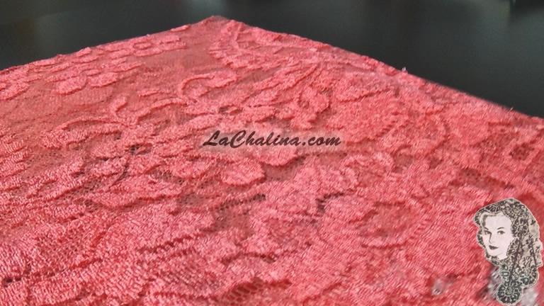 Chalina Española Modelo Medallon Coral 363 Niña