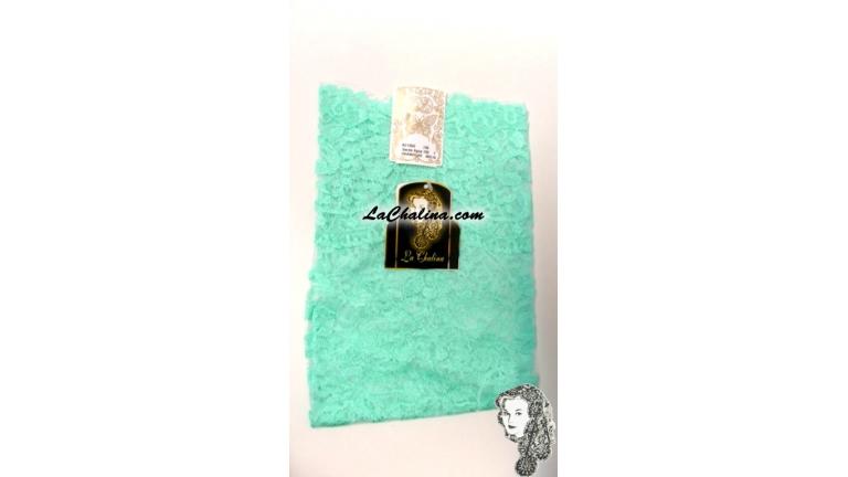 Chalina Española Modelo Medallon Verde Agua 703