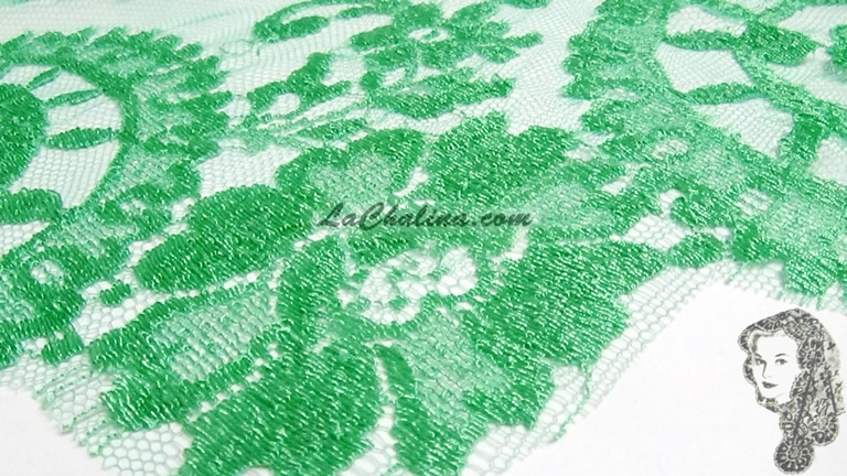 Chalina Española Modelo Medallon Verde Lima 772