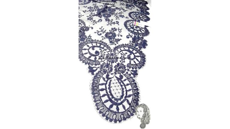 Chalina Española Modelo Medallon Gris Oxford 957