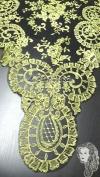 Chalina Italiana Modelo Medallon Bronce 562 Fondo Negro