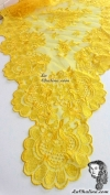 Chalina Italiana Modelo Flor de Liz Amarillo 546