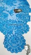 Chalina Italiana Modelo Flor de Liz Azul Mediterraneo 803