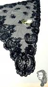 Chalina Española Modelo Corazon  Negro 900