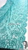 Chalina Española Modelo Ada Rectangular Verde Aqua