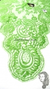 Chalina Francesa Modelo Lea Color Verde Prado