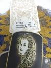 Chalina Española Modelo Medallon Ocre Fondo Tinta 832