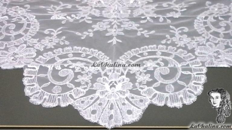 Chalina Italiana Modelo Medallon Blanco 800
