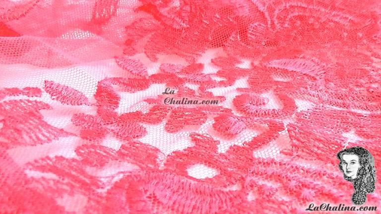 Chalina Italiana Modelo Flor de Liz Fucsia 127