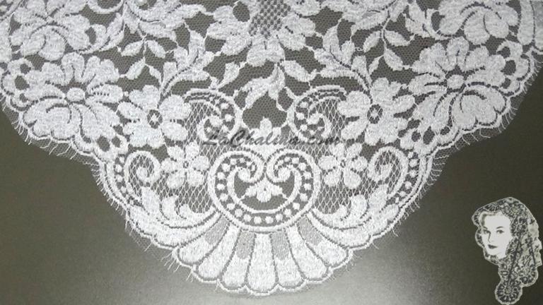 Chalina Francesa Modelo Paris Blanco