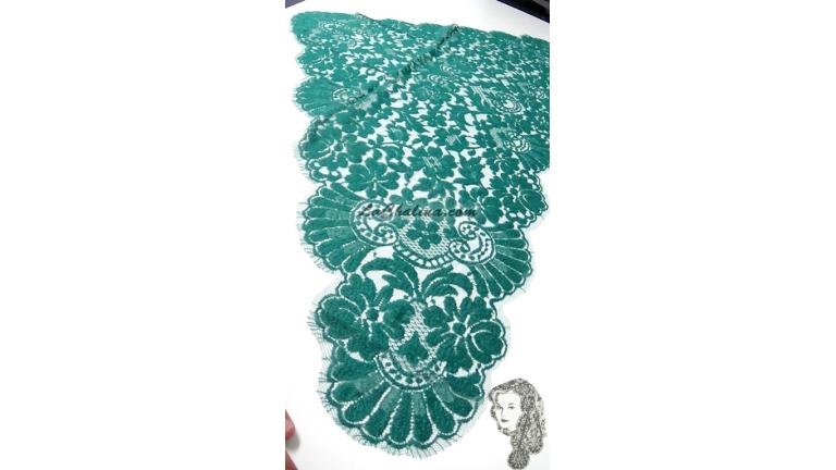 Chalina Francesa Modelo  Paris Verde Esmeralda