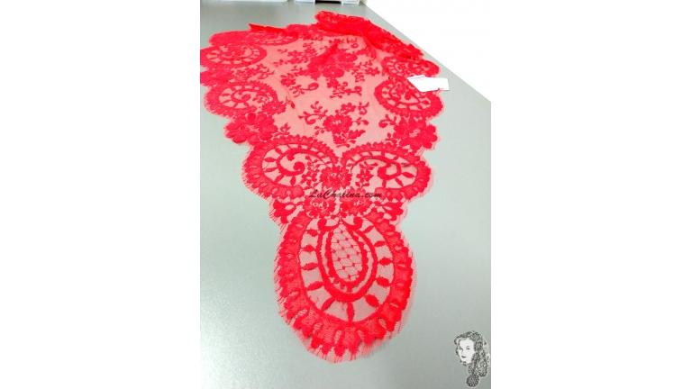 Chalina Española Modelo Medallon Roja 409