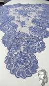 Chalina Italiana Modelo Flor de Liz Azul Jean 312