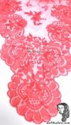 Chalina Italiana Modelo Flor de Liz Coral 105