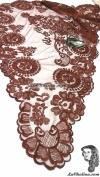 Chalina Española Modelo Rombo Chocolate Claro 786