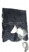 Chalina Francesa Modelo Acsa Color Negro
