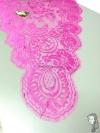 Chalina Francesa Modelo Lea Color Borgoña